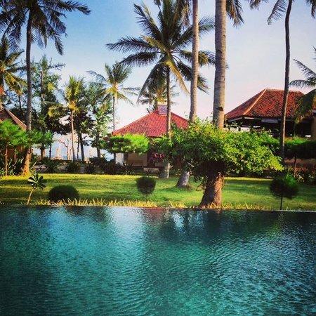Villa Karang Hotel and Spa: Pool and Garden