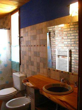 Patagonicus Bed & Breakfast: Baño habitacion doble superior