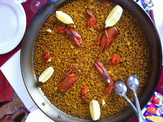 El Cantal Restaurante: Arroz de bogavante