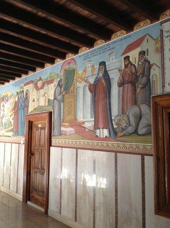 Kykkos Monastery (Panagia tou Kykkou): mosaics