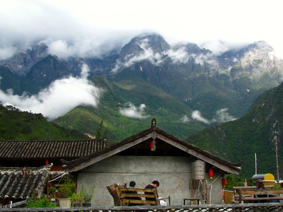 Naxi Family Guesthouse : The View From Naxi