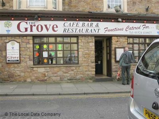 The Grove Cafe Bar and Restaurant : the grove morecambe front