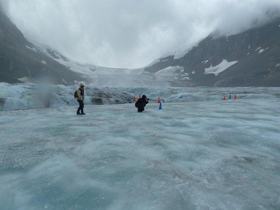 Columbia Icefield Glacier Adventure: On the glacier