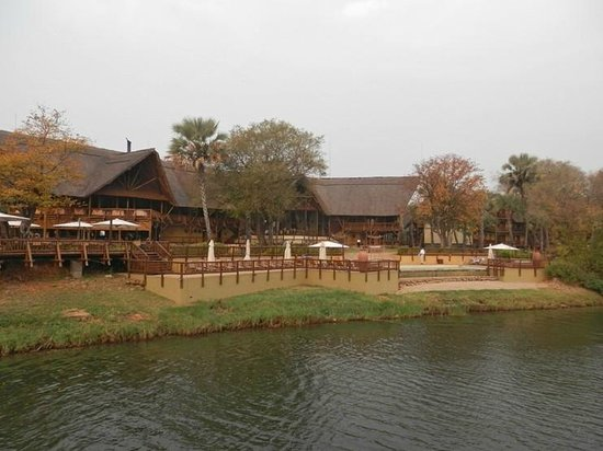 The David Livingstone Safari Lodge & Spa: The lodge