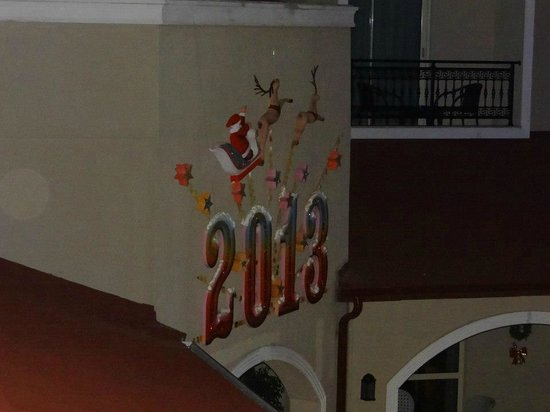 Paloma Oceana Resort: view from balcony