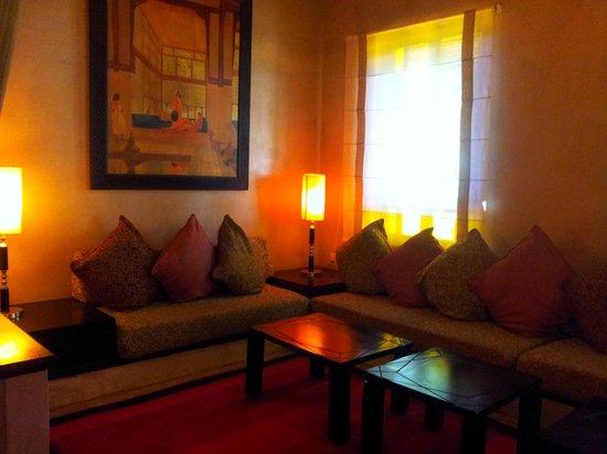 Club Med Marrakech le Riad: petit salon reception