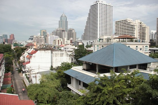 Sawasdee Hotel @ Sukhumvit Soi 8 : view from room