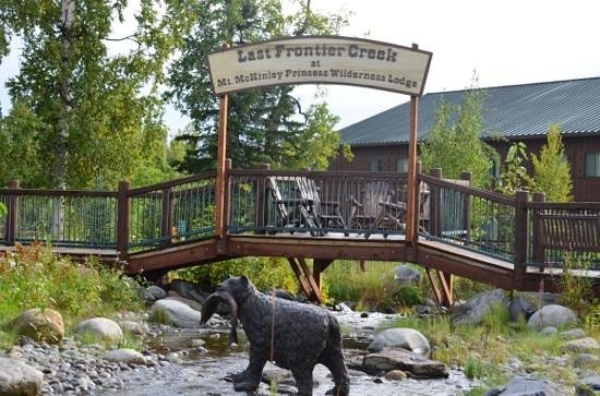 Mt. McKinley Princess Wilderness Lodge: near our room.