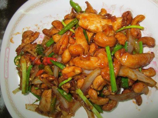 Koti Restaurant: Spicy Cashew Chicken