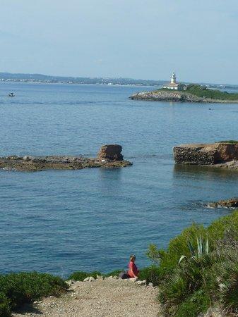 Playa de Aucanada : Vue pendant la promenade