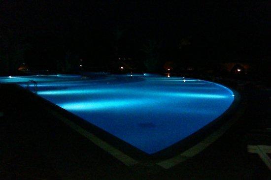 Limak Limra Hotel : pool at night
