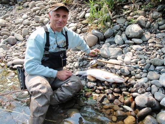 Stonefly Guide Service: Mark Seligman summer steelhead