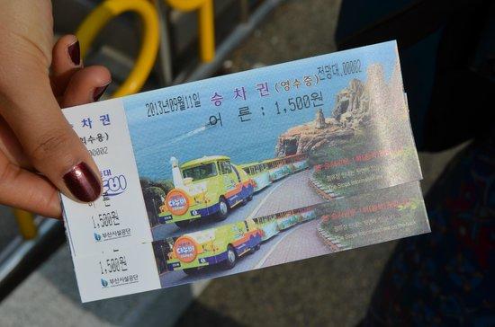 Busan City Tour Taejongdae
