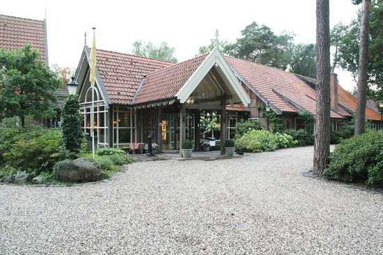 Landgoed de Holtweijde : De hoofdingang.