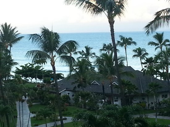 Aston Kaanapali Shores: Wonderful view from room