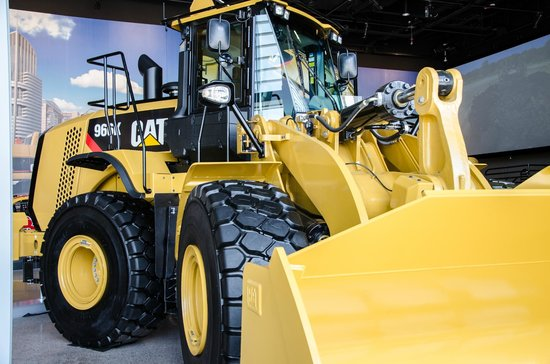 Пеория, Илинойс: See Cat® equipment on display at the Caterpillar Visitors Center
