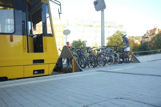 Zahnradbahn: Letzter Platz