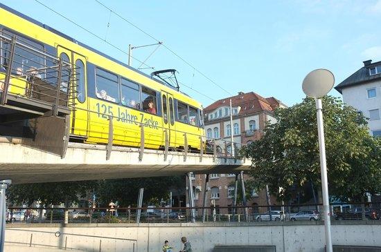 Zahnradbahn: Fahrt bergan