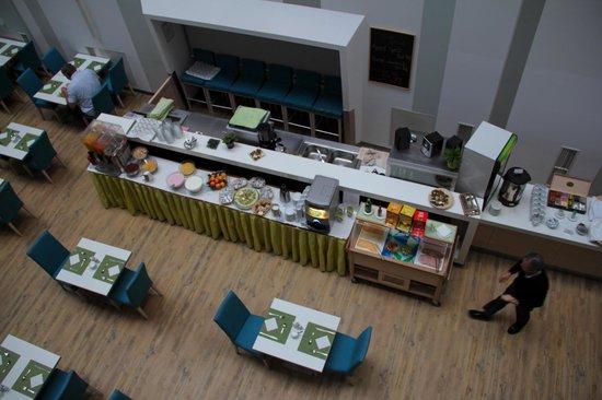 Atrium Fashion Hotel : colazione