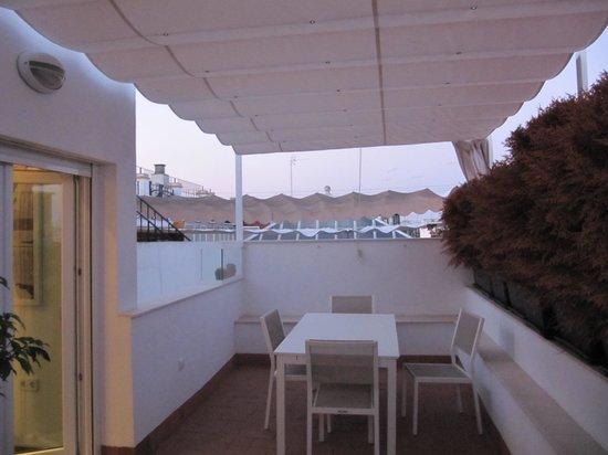 Apartamentos Espacio Eslava: Terrace