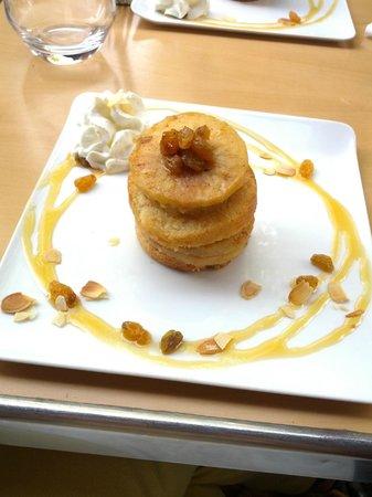 Le Bistro de Gaspard: Moelleux pommes cannelle