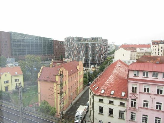 B&B Hotel Prague City: View from Room 712