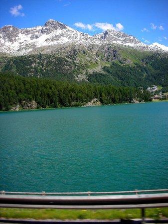 Lake of Staz (Lej da Staz): Lake of Staz