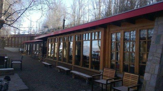 Hotel Posada de Farellones: Área Externa