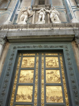 Baptistery of San Giovanni (Battistero): About the doors (aka Gates of Paradise & About the doors (aka Gates of Paradise)... - Picture of Baptistery ... Pezcame.Com