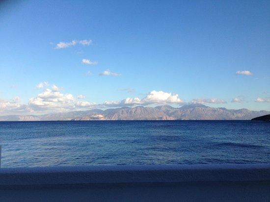 إيلوندا بيتش هوتل آند فيلاس: View from our room with private sun terrace