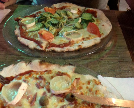 Pizzeria Sacha : Pizza courgette