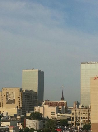 SpringHill Suites Louisville Downtown: View from our room