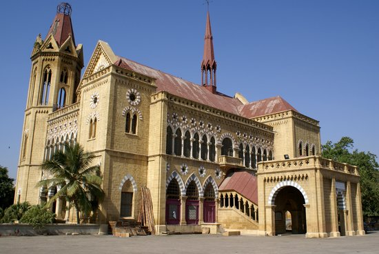 View of Frere Hall.