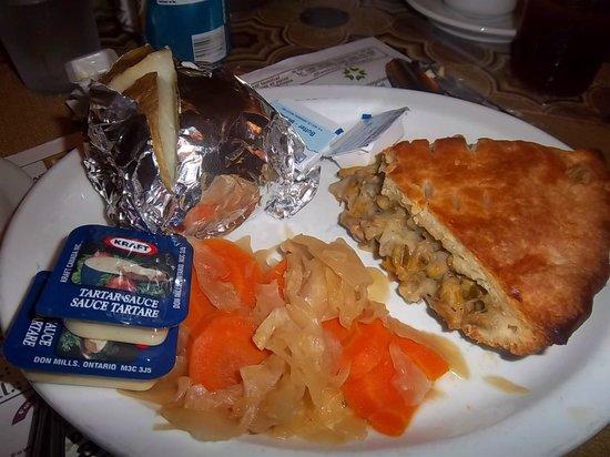 Restaurant la Sagouine : Clam pie
