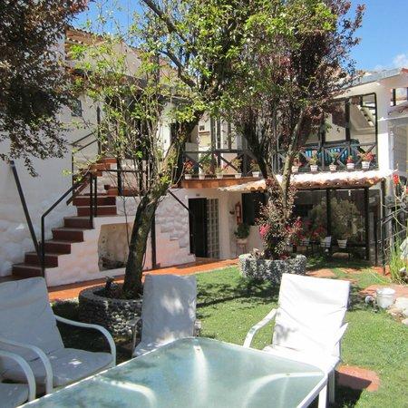 Tika Wasi Casa Boutique : view of the courtyard