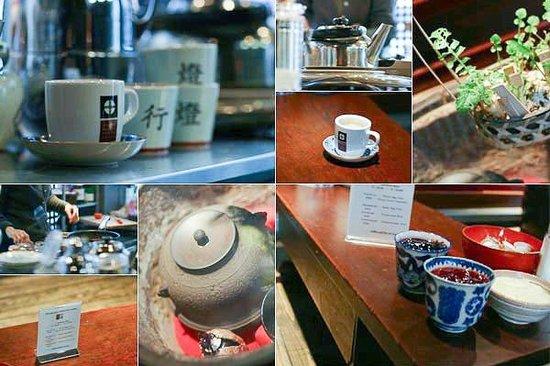 Enjoy tea at Andon Ryokan
