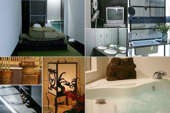 Room and facilities at Andon Ryokan