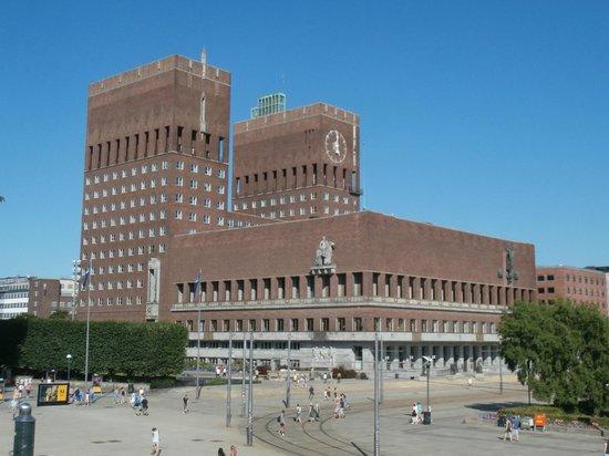 The Nobel Peace Center: panorama sul Municipio dal Centro Nobel