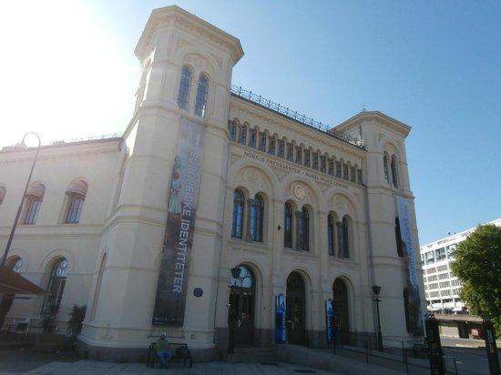 The Nobel Peace Center: edificio