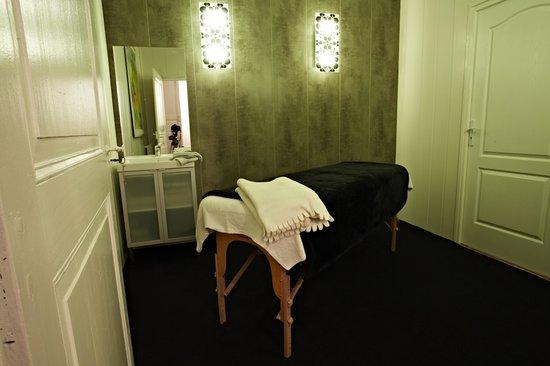 Les Jardins de Mazamet : Salle de massage