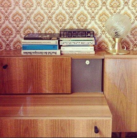 Ostel - GDR The Hostel: Books on Bedside