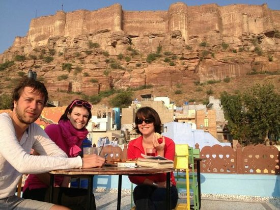 Kesar Heritage Restaurant: excellent view from roof