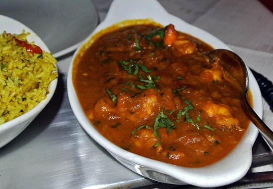 Indian Ocean: King Prawn Rogon Josh