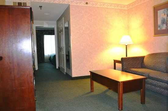 Comfort Inn & Suites Peachtree Corners: Non- Smoking Suite King size bed living Area