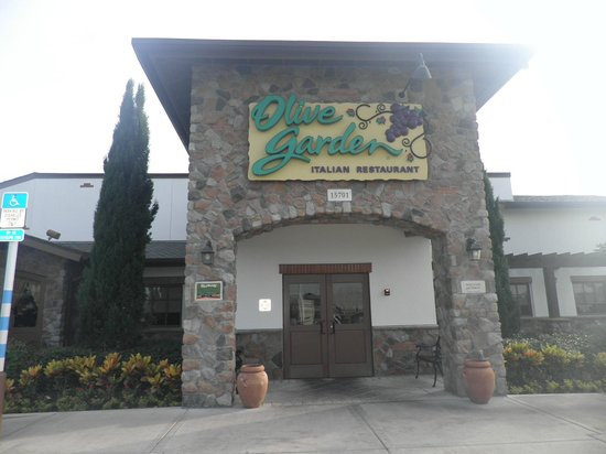 Entrance To Olive Garden Picture Of