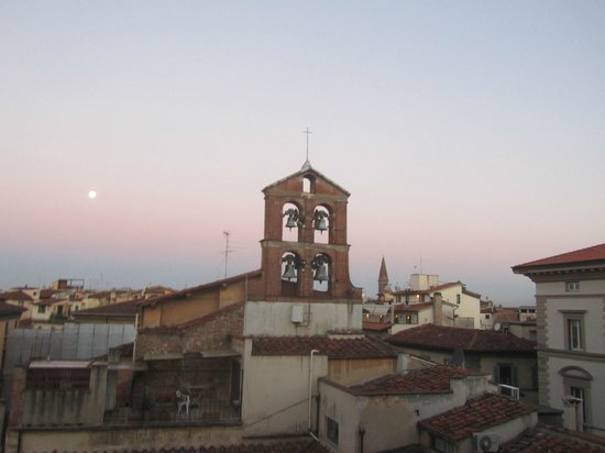 Hotel Perseo: clock tower view