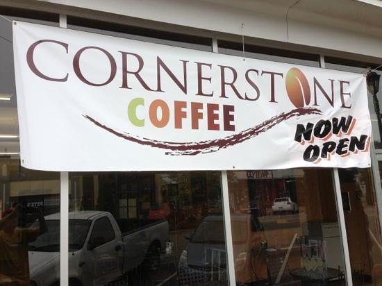 Cornerstone Coffee: Front of Store