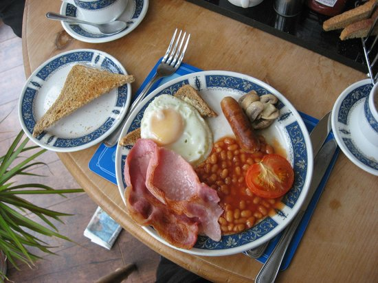 Esk Vale Guest House: Full English Breakfast at the Esk Vale