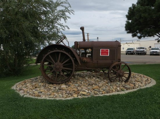 Center of the Nation Monument: Old Tractor is part of the museum