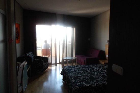 Albir Playa Hotel & Spa: Lit double ( à préciser en réservant )